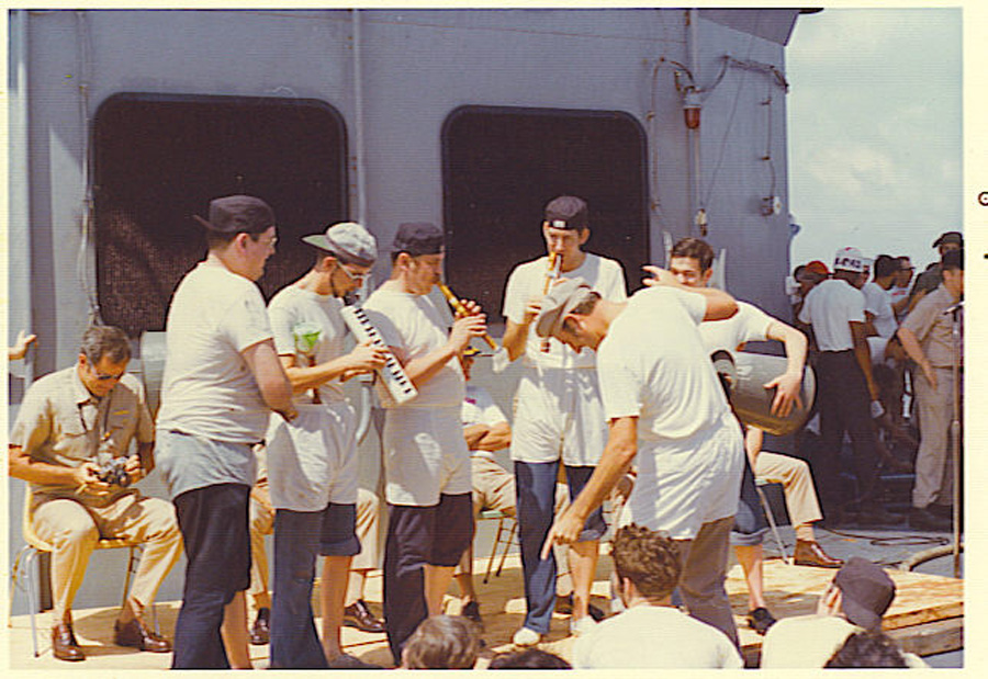 Crossing the Equator 1976